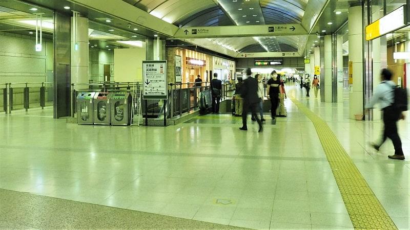 東京駅京葉線コンコース